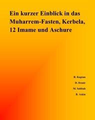 Ein kurzer Einblick in das Muharrem-Fasten, Kerbela, 12 Imame und ...