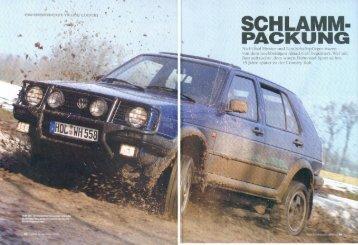 Motor Klassik Youngtimer Spezial - 1/2005 - VW Golf Country