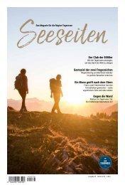 Seeseiten – das Magazin für die Region Tegernsee, Nr. 58, Ausgabe Herbst 2019