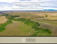 Blood Coulee Farm Offering Brochure