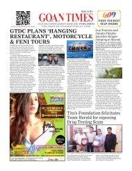 GoanTimes August, 30 2019 issue