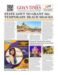 GoanTimes September, 06 2019 issue