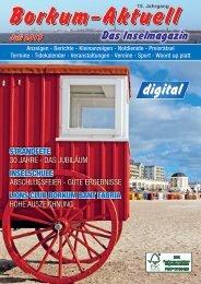 Juli 2019   Borkum-Aktuell - Das Inselmagazin