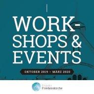 Workshops und Events Projekt:Friedenskirche