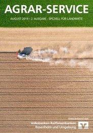 Agrar-Service 2. Ausgabe 2019