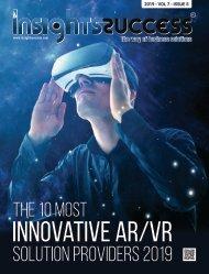 The 10 Most Innovative ARVR Solution Providers 2019