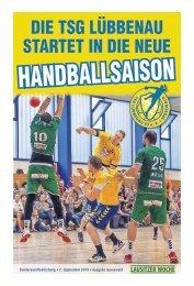 Die TSG Lübbenau startet in die neue Handballsaison