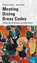 Leseprobe: Zehnder/Senn: Meeting, Dining, Dress Codes