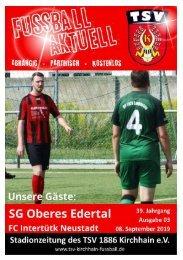 08.09.2019 - Stadionzeitung - T. Neustadt