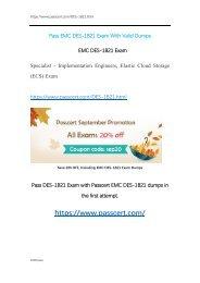 DES-1B21 Elastic Cloud Storage (ECS) Exam Dumps