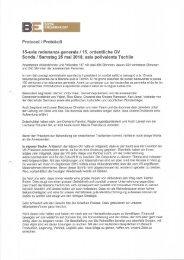 Protocol 15-avla radunanza generala