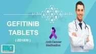 Natco Geftinat 250mg Gefitinib Tablets | Indian Iressa Wholesaler | ZD1839 China Price