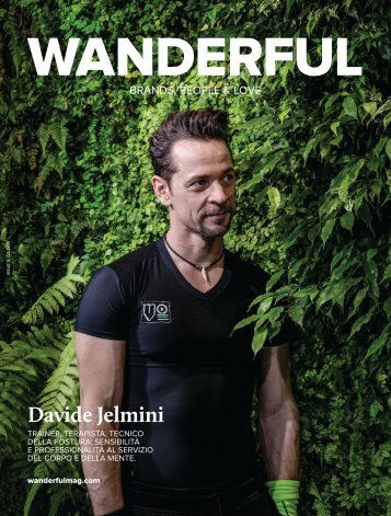 The Wanderful Mag, Issue 5, Davide Jelmini