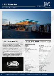 LED Flextube FT Serie - NEON like LED Tubes für Architectural Lighting Projekte- NP LIGHTING