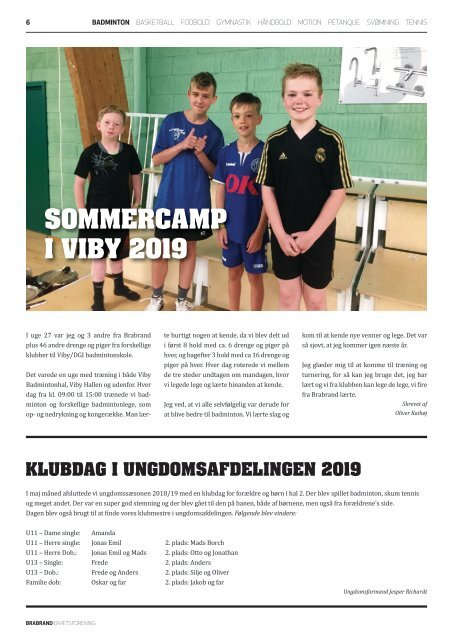 Brabrand IF klubblad nr. 3 // 2019