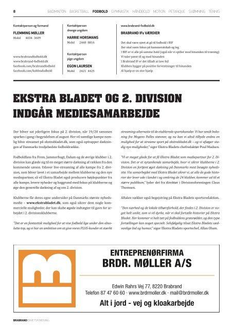 Brabrand IF klubblad nr. 3 // 2019