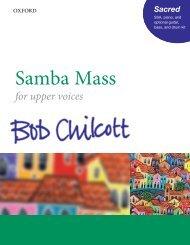 Bob Chilcott - Samba Mass SSA