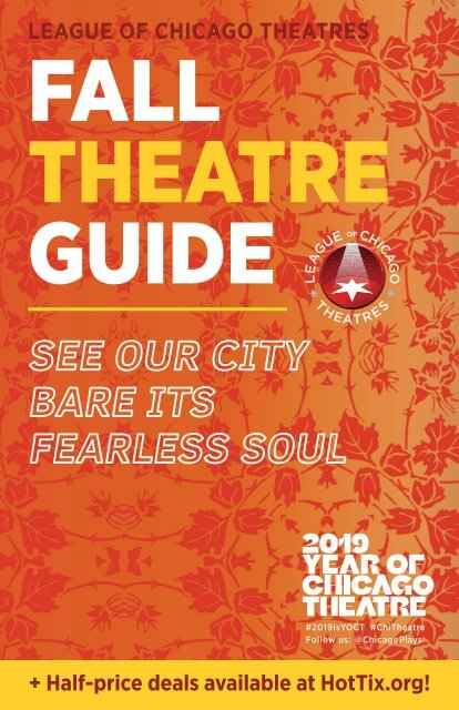 Fall 2019: Guide to Chicago Theatre