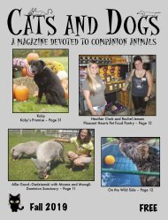 Cats and Dogs Magazine Fall 2019