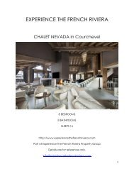 Chalet Nevada - Courchevel