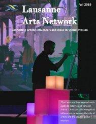 Fall Lausanne Arts 2019 Newsletter