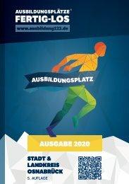 AUSBILDUNGSPLÄTZE - FERTIG - LOS | Stadt und Landkreis Osnabrück 2020