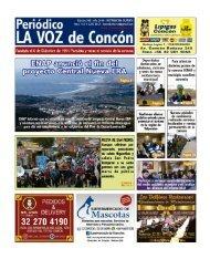 Periodico LA VOZ de Concon Edicion 509