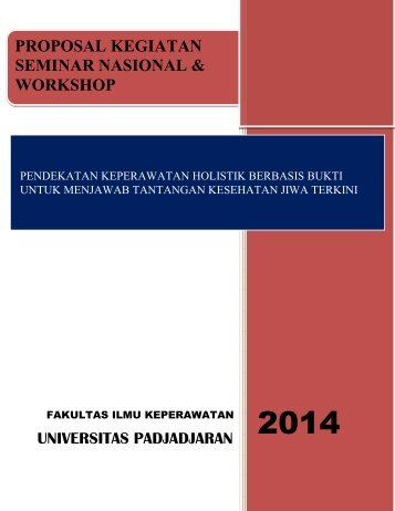 Proposal Kegiatan Seminar Nasional