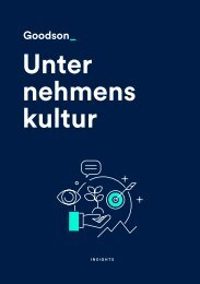 Unternehmenskultur Broschüre