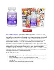 Ultra Fast Keto Boost : Shark Tank Diet Pills Reviews, Price & Where To Buy