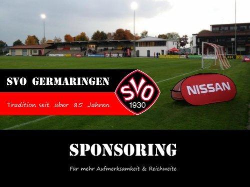 SVO 1930 Germaringen_Sponsoring