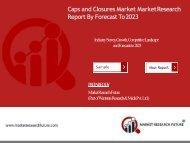 Caps and Closures Market