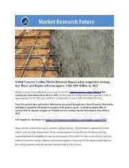 Global Concrete Cooling Market