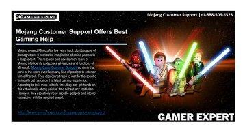 Mojang Customer Support |+1-888-506-5523 | Mojang Game Support USA
