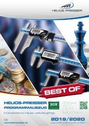 Helios-Preisser - Best Of - Programmauszug 2019/2020