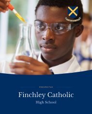 Finchley Catholic 2019 Prospectus