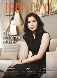 TROPICANA MAGAZINE Sept-Oct 2019 #126 The Well being