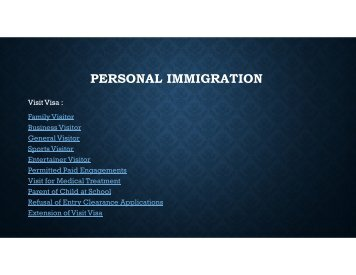 Personal immigration Advice | UK Immigration Lawyers | Chauhan solicitors