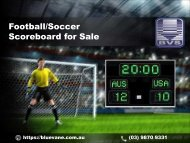 Purchase trouble-free and cost effective LED Football/Soccer Scoreboard online