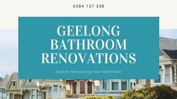 Desired Bathroom Renovations in Geelong