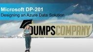 DP-201 Exam Questions PDF