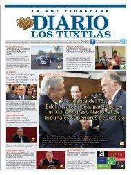 Edición de Diario Los Tuxtlas del día 06 de Septiembre de 2019