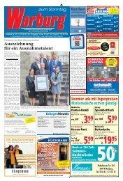 Warburg zum Sonntag 2019 KW 36
