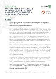 Projeto de Lei de Conversão da MP 884/2019 Inviabiliza a Regularização Ambiental de Propriedades Rurais