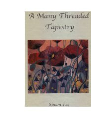 A Many Threaded Tapestry - my delightful collection of sad & funny spiritual poems