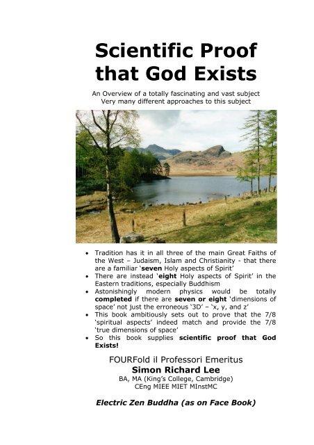Scientific Proof that God Exists