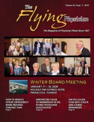 The Flying Physician, Issue 1 2019 online