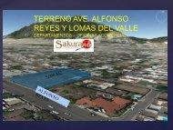 San Pedro, NUEVO LEON, Mexico  TERRENO AVE. ALFONSO REYES Y LOMAS DEL VALLE