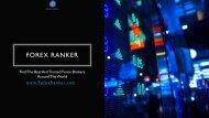 Find Top Forex Brokers - Forex Ranker