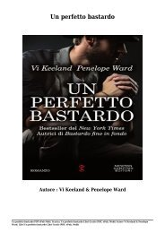 Scarica Un perfetto bastardo Libri Gratis (PDF, ePub, Mobi) Di Vi Keeland & Penelope Ward